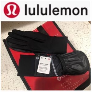 LULULEMON RUN FAST GLOVES